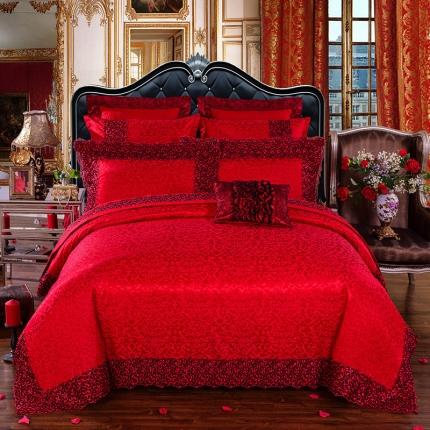 浩情国际 梦幻巴黎10件套床盖式组合件套