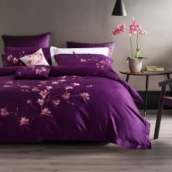 一岚家居 简约时尚相遇的起点系列四件套 相遇的起点紫