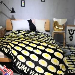 (总)顾里家纺 柔软舒适双层毛毯空调毯