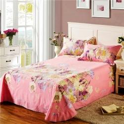 艾羽家纺 全棉高级磨毛澳棉系列单品床单 米兰达