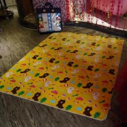 (总)cici家纺 冬季保暖绒类地垫