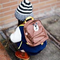 澳鼠家纺 幼儿园书包 棕色 均码