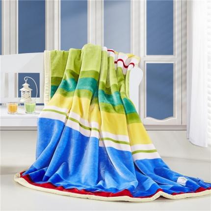 (总)慕月家纺 柔软舒适毛毯双层毯