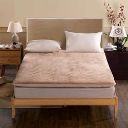 (总)喜她床垫 保暖舒适法莱绒床垫