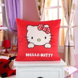 (总)艾尚家居 卡通抱枕靠垫kt猫