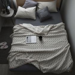 纯品家居 多层大提花盖毯毛毯花色1
