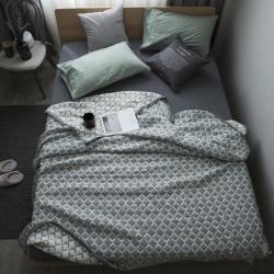 纯品家居 多层大提花盖毯毛毯花色5