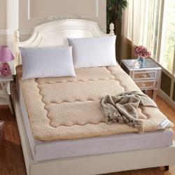 敢为床垫 保暖羊羔绒软床垫床褥