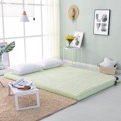 米帛床垫天然乳胶可拆洗床垫加厚榻榻米床垫1.5/1.8m
