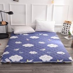 (总)米帛床垫双面绗绣全棉加厚床垫