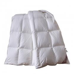 圣卓家纺 全棉羽绒被冬被被芯 白色