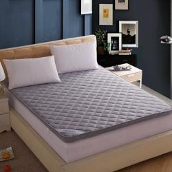 敢为床垫 透气网格竹炭纤维绗绣 加厚立体床垫