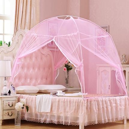 天依舍 蒙古包蚊帐系列A-8819 粉色