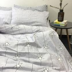 梦家居韩式全棉纯棉宜家风四件套床品实拍图