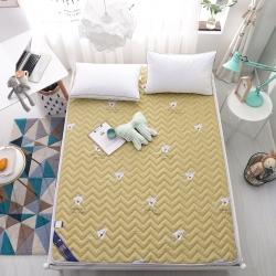 新款可水洗全棉印花薄床垫空调垫地垫儿童卡通爬爬垫