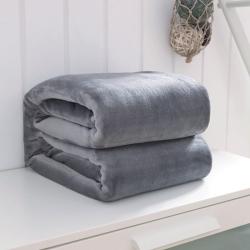 2017来菲加厚纯色法莱绒毛毯珊瑚绒毯子素色金貂绒六规格总