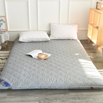 总  加厚磨毛可折叠榻榻米床垫午睡垫单人双人学生宿舍床褥