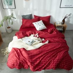 (总)北欧良品水洗棉四件套无印良品被套床笠床单 单品有售