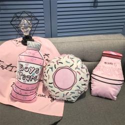 源本家居  pink粉色少女心抱枕