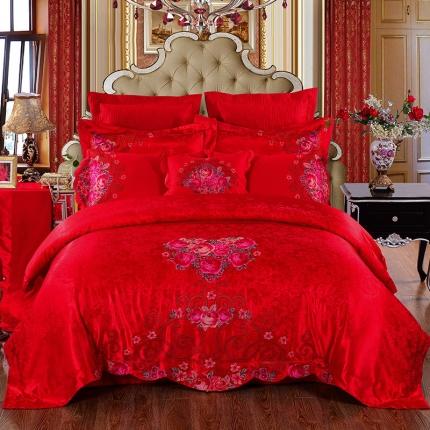 浩情国际 甜蜜花香10件套床盖式组合件套