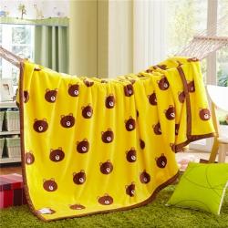(总)品乐家纺 柔软舒适220克法莱绒毛毯