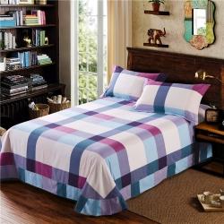 艾羽家纺 全棉高级磨毛澳棉系列单品床单 明朗格调