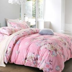 贝丝蕾家纺 美式纯棉活性生态磨毛四件套空城旧梦