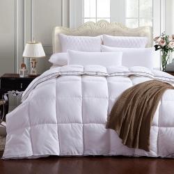 (总)酷棉国际家纺 柔赛丝加厚保暖立体羽绒被