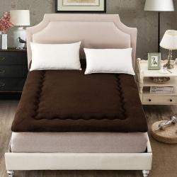 (总)红缘坊垫业 温暖舒适新羊羔绒床垫
