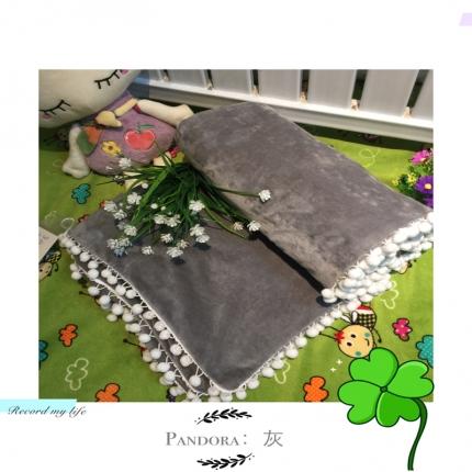 纯优家纺 Pandora潘多拉魔法毯子(单被套)灰色