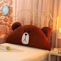 欧漫家居 床头靠枕抱枕毛绒玩具大靠背呆呆熊