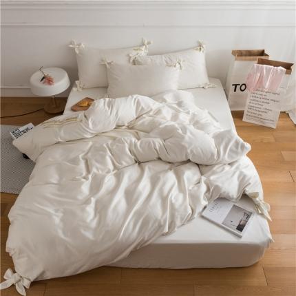 (总)杰米家纺 长绒棉dearlife系列四件套床单款