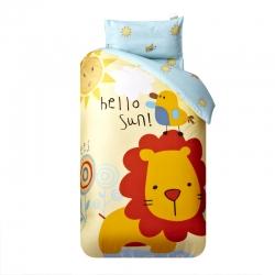 御棉坊 大版系列幼儿园三件套幼儿园被子婴童三/六件套丛林狮子