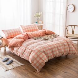 新棉坊 水洗棉四件套床单款提花-玉