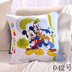 迪士尼家纺 环保印染卡通靠垫042