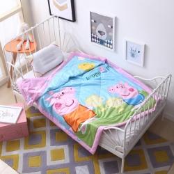 御棉坊 儿童夏被 纯棉棉花夏凉被 空调被 幼儿园被 含包装