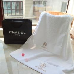 香奈儿 五星级酒店款浴巾毛巾方巾 奢侈品大牌长绒棉浴巾套巾