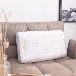 瑞莉安枕芯  皇家乳胶枕 平面 颗粒 美容 面包 儿童