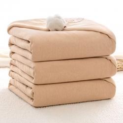 快乐迪   彩棉纯棉儿童抱被   秋冬款加棉婴儿抱被 礼盒装