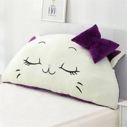 永光家居 印花卡通靠背床头靠垫大靠背床头软包 觉觉猫
