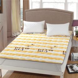 水晶宝宝绒床垫防滑保暖床褥床护垫可机洗软垫薄垫榻榻米小蜜蜂