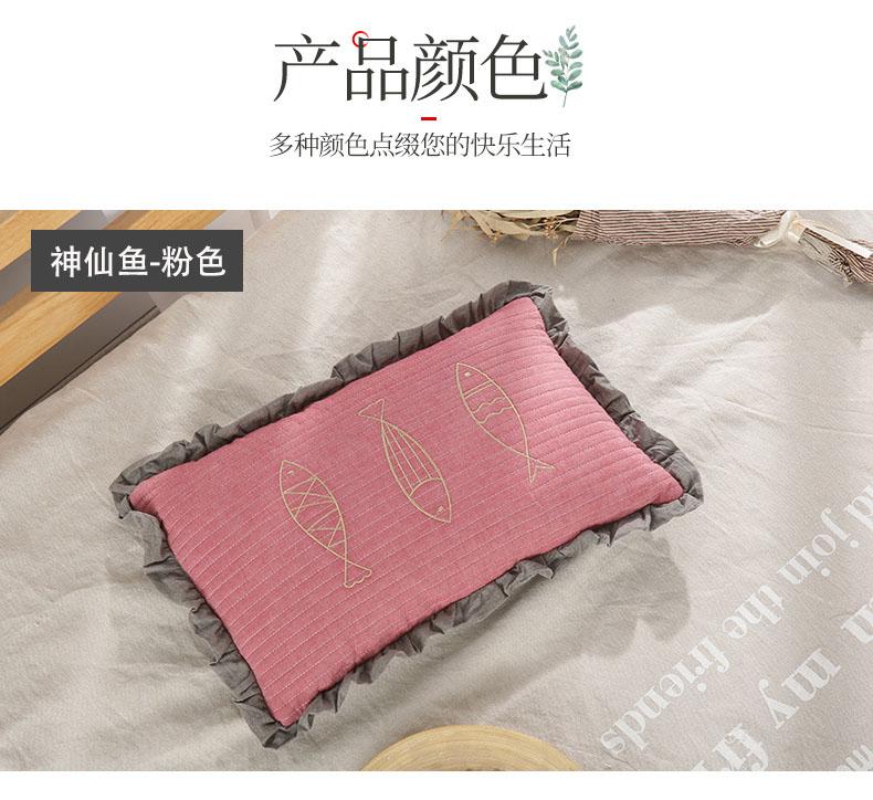 南通家纺 2020新款荞麦枕神仙鱼系列30*50(图13)