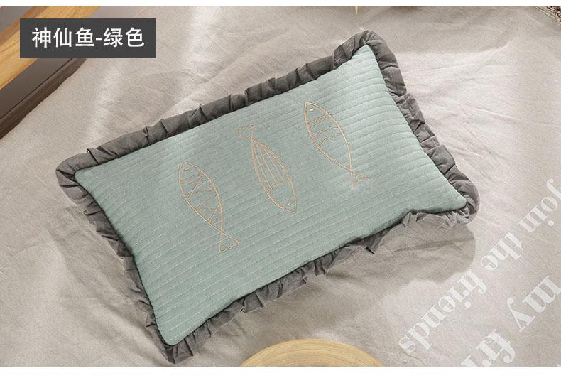 南通家纺 2020新款荞麦枕神仙鱼系列30*50(图15)