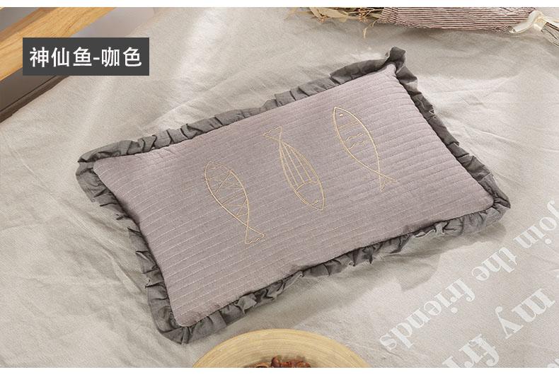 南通家纺 2020新款荞麦枕神仙鱼系列30*50(图17)