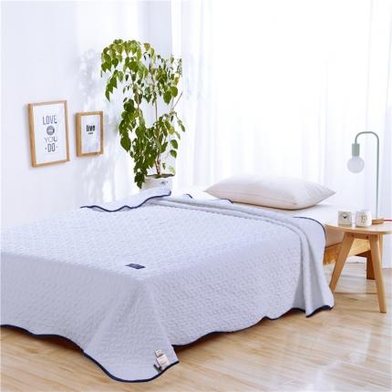(总)绵屋家纺 马卡龙色系水洗棉床盖式夏被