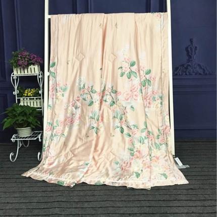 绵屋家纺 40天丝夏被(送精美包装)樱花之雨
