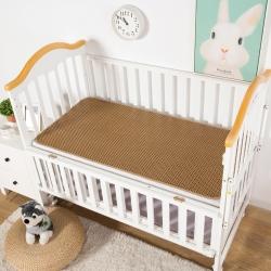 南企鹅家居 新款婴儿床藤席 三字格