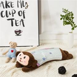 南企鹅 2019新款3D印花儿童枕 可爱小猴