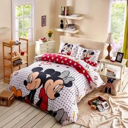 迪士尼 13372全棉活性印花窄幅套件床单款MU-3777