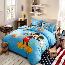 迪士尼 13372全棉活性印花窄幅套件床单款MU-3797